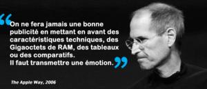 Steve Jobs citation The Apple Way