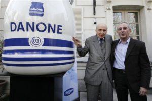 Carasso et Riboud - Fondateurs Danone