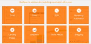 Marketing automation Hobspot