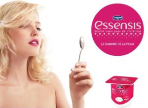 Publicité Essensis Danone