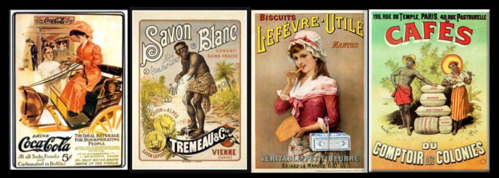 Publicités années 1900
