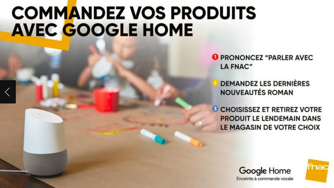 Google Home Fnac